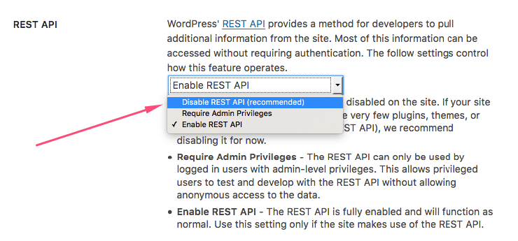 How to Disable the WordPress API, AKA JSON REST API